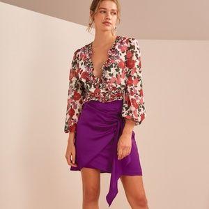 1002920b0602 KEEPSAKE the Label Skirts | Nwot All Mine Shell Mini Skirt | Poshmark